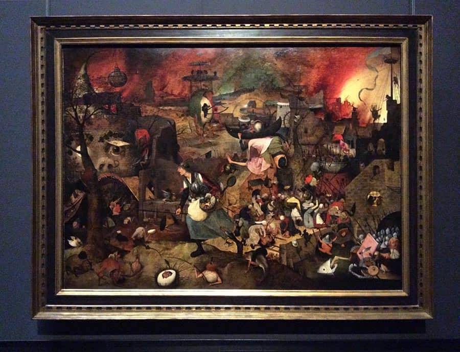 """Peter Bruegel Senior """"Mad Mag"""" (1562) at the exhibition in Vienna. Photo: Art with me! e.u., 2019"""