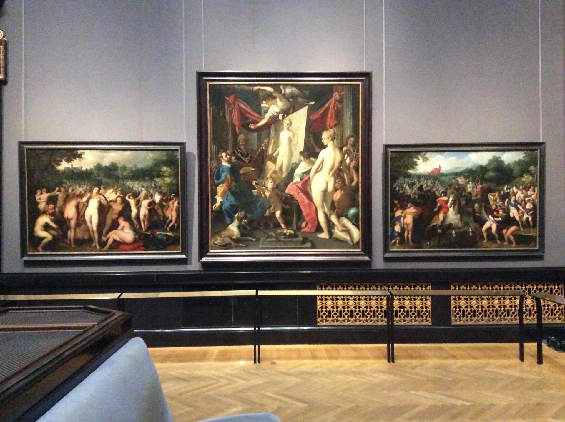 экскурсия красота живопись вена музей