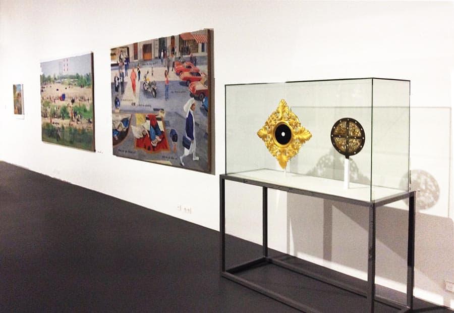 Вид экспозиции современного искусства в Музее Собора. Фото Юлии Абрамовой, 2018