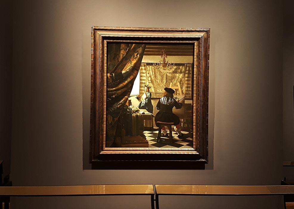 экскурсия живопись музей вена