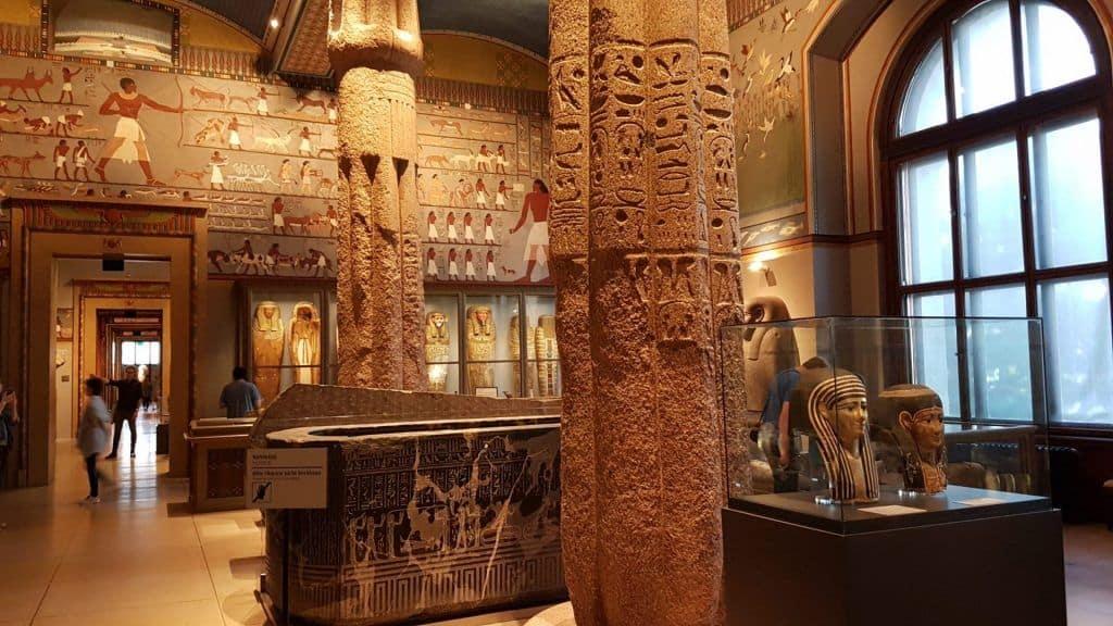 Экспозиция древнеегипетского искусства в Венском музее истории искусства. Фото: Art with me! e.U., 2019