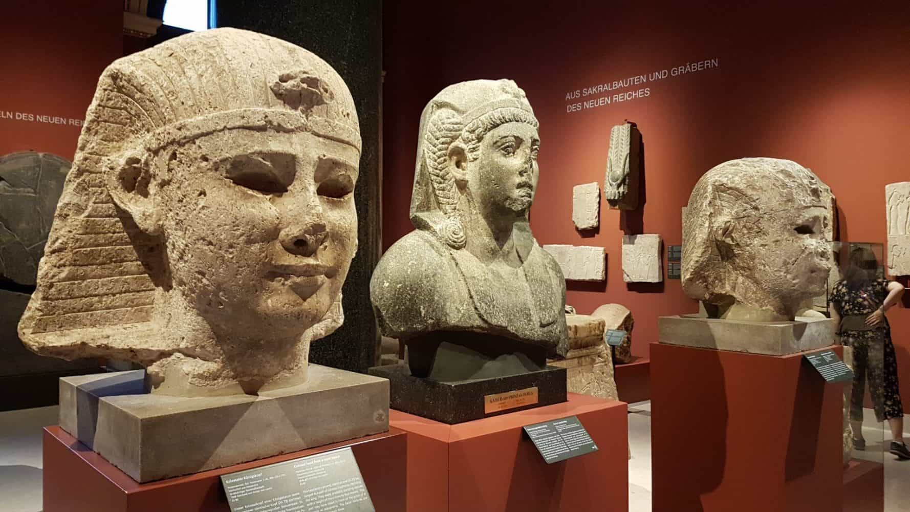 The Ancient Egyptian collection of the Museum of Art History. Photo: Art with me! e.U., 2019