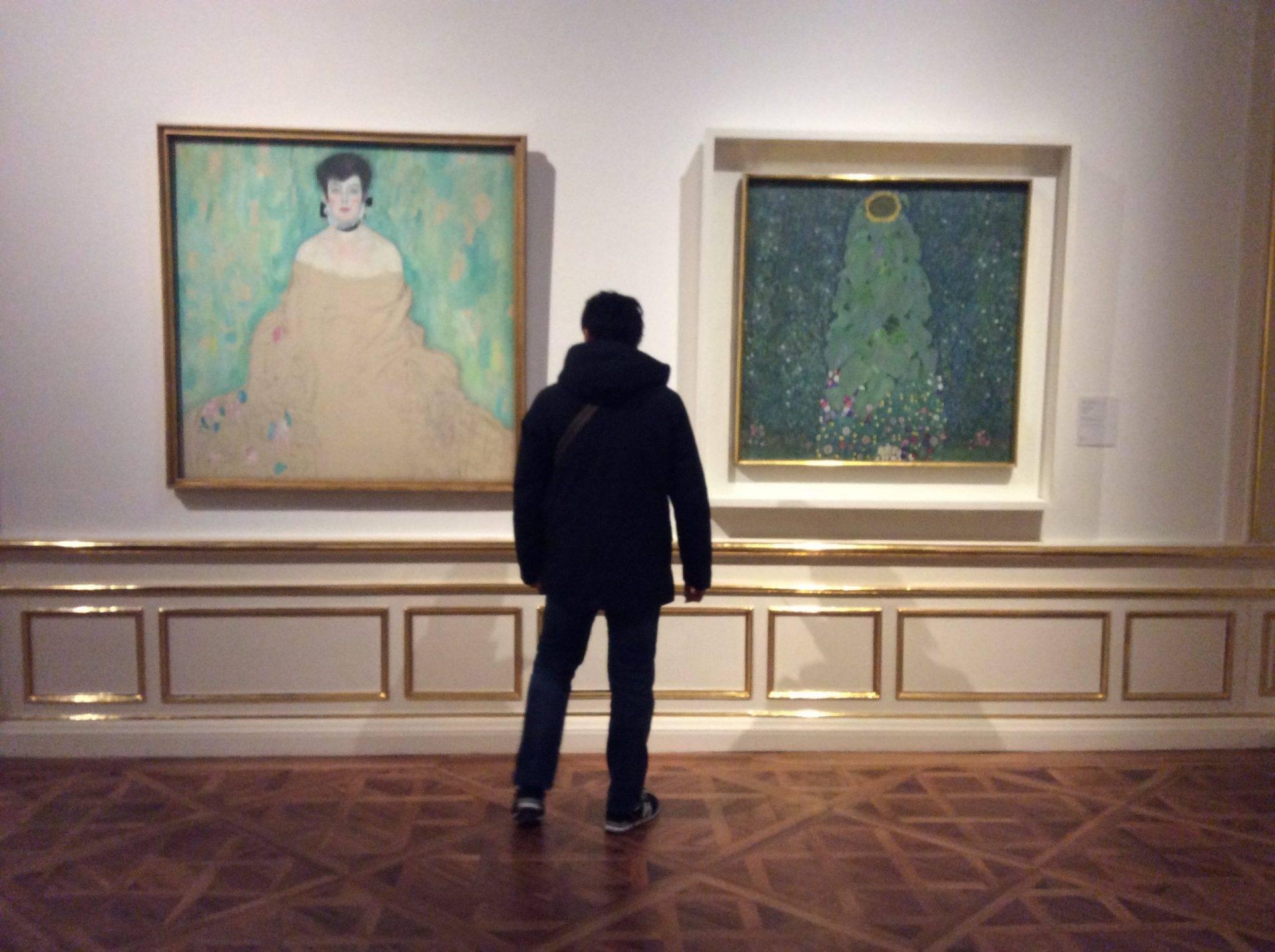 Бельведер экскурсия Климт картины подсолнух