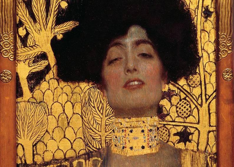 Бельведер Климт картина Юдифь 1