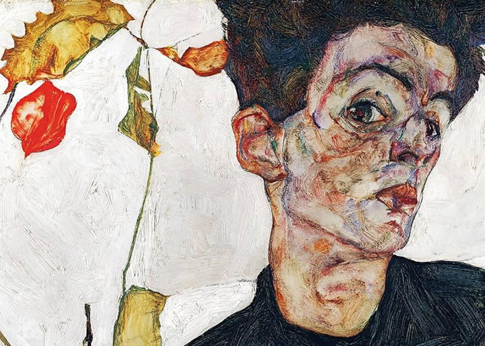 Музей Леопольда Шиле портрет с лампионами