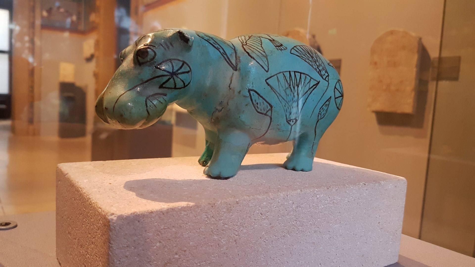 музей древний египет бегемот