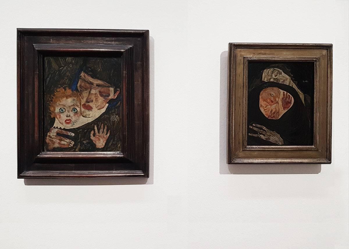 Музей Леопольда картина шиле мать