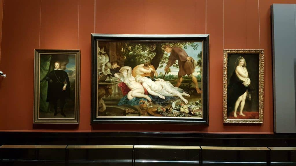 Paintings by Peter Paul Rubens at the Vienna Museum of Art History. Photo: Art with me! e.U., 2019