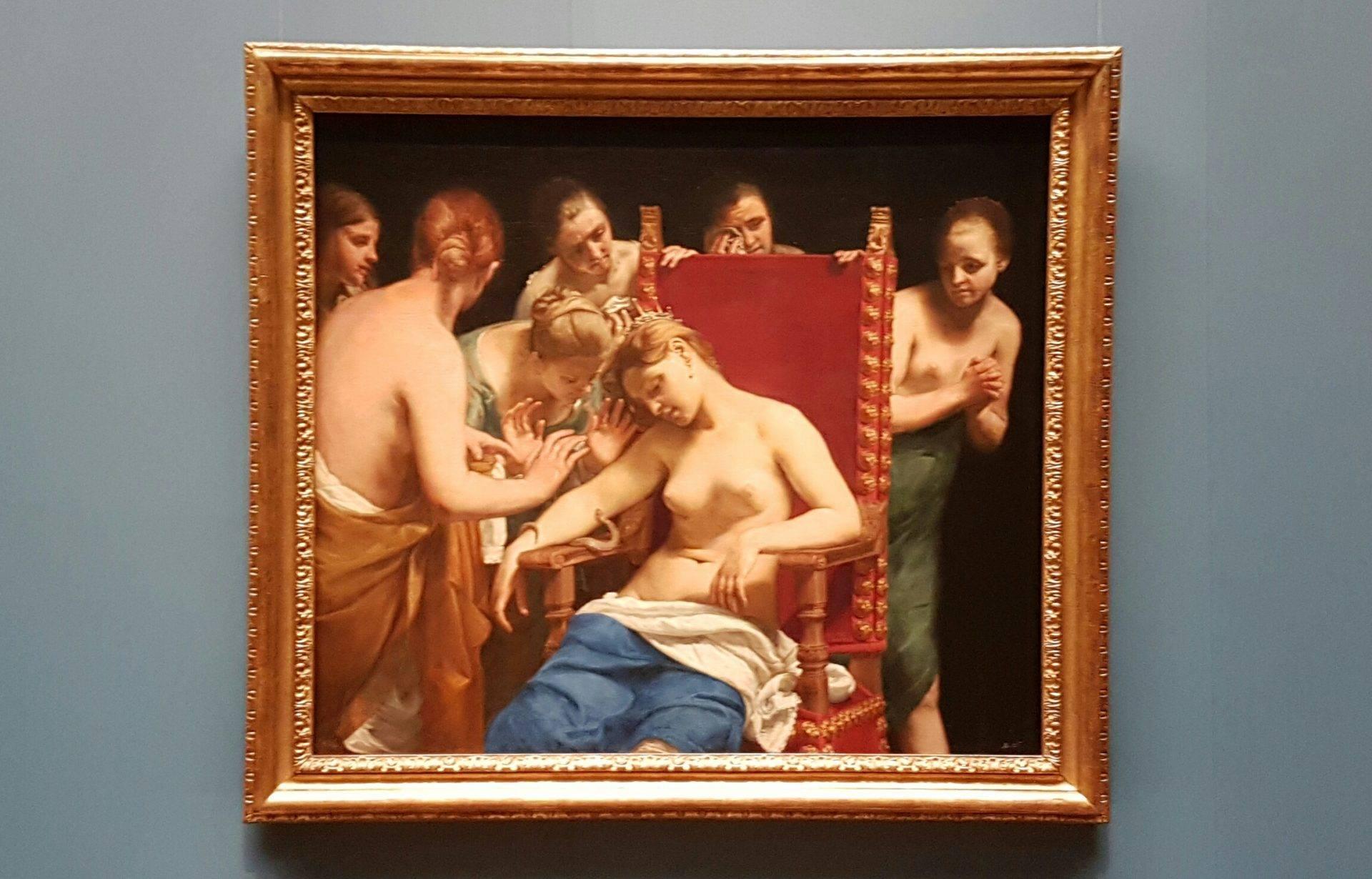 картина клеопатра экскурсия женщины музей