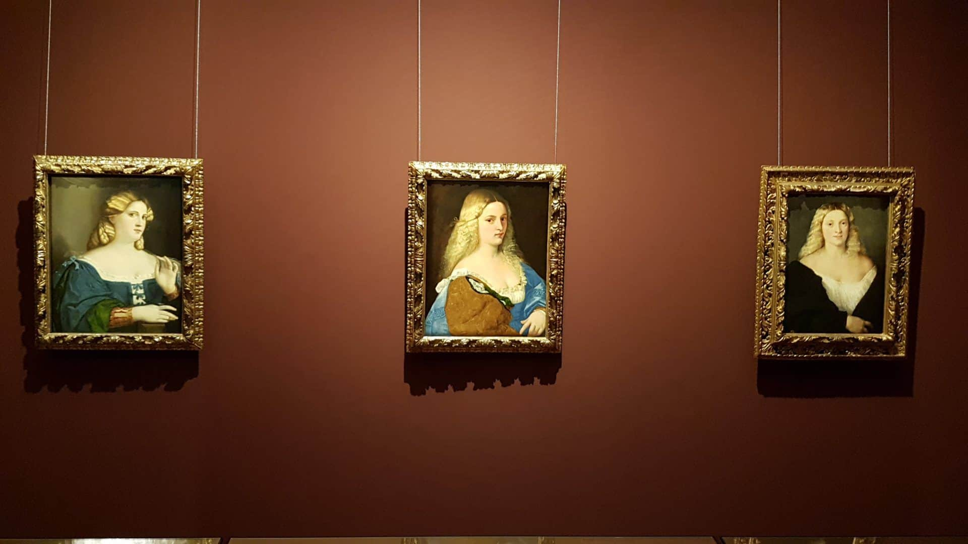 Portraits of Venetian courtesans at the Museum of Art History. Photo: Art with me! e.U., 2019