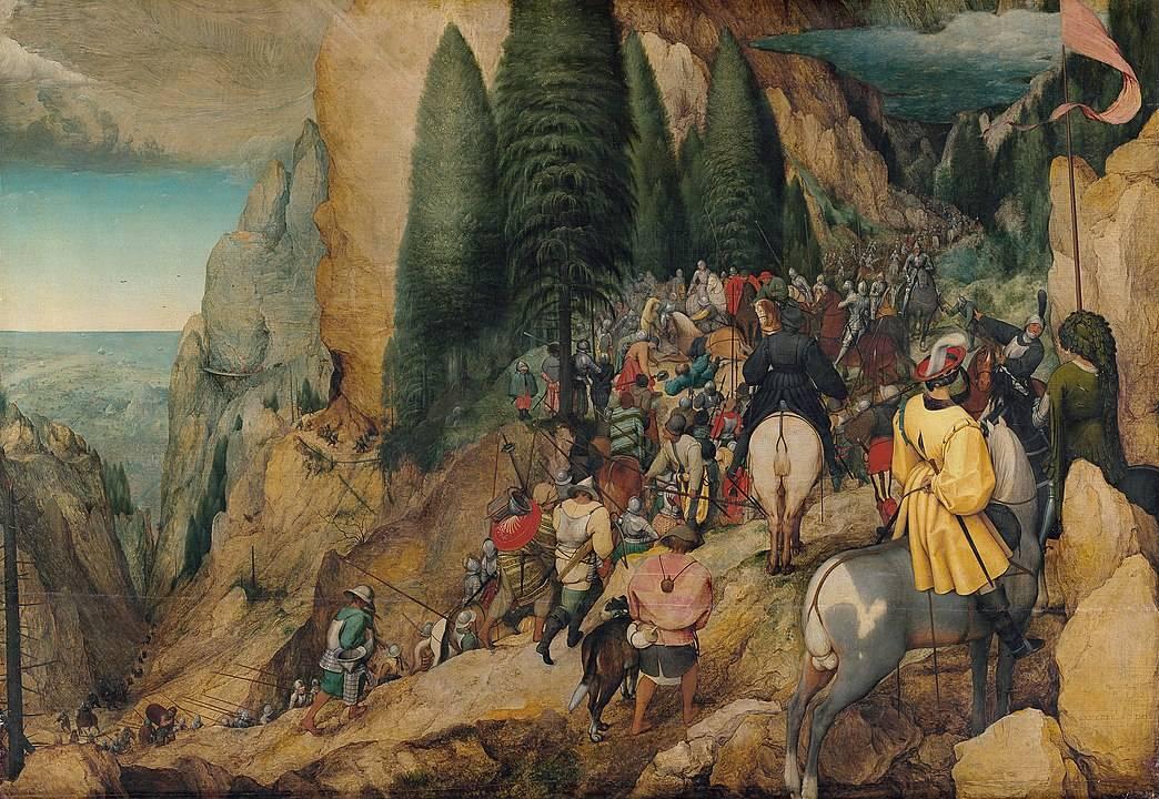 картина брейгель призвание павла