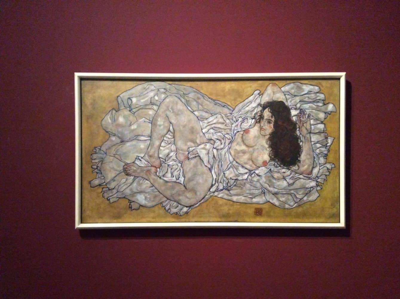 Эгон Шиле в экспозиции Музея Леопольда. Фото Art with me! e.U., 2019
