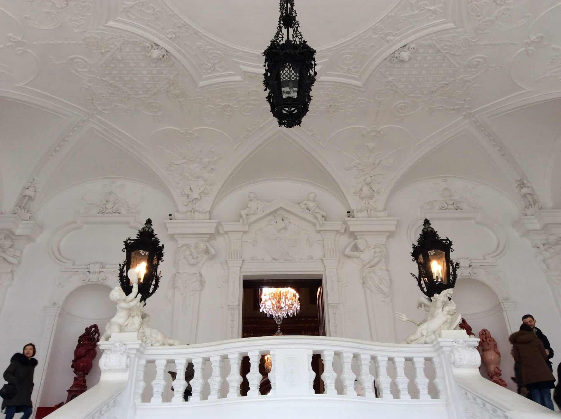 Верхний Бельведер лестница