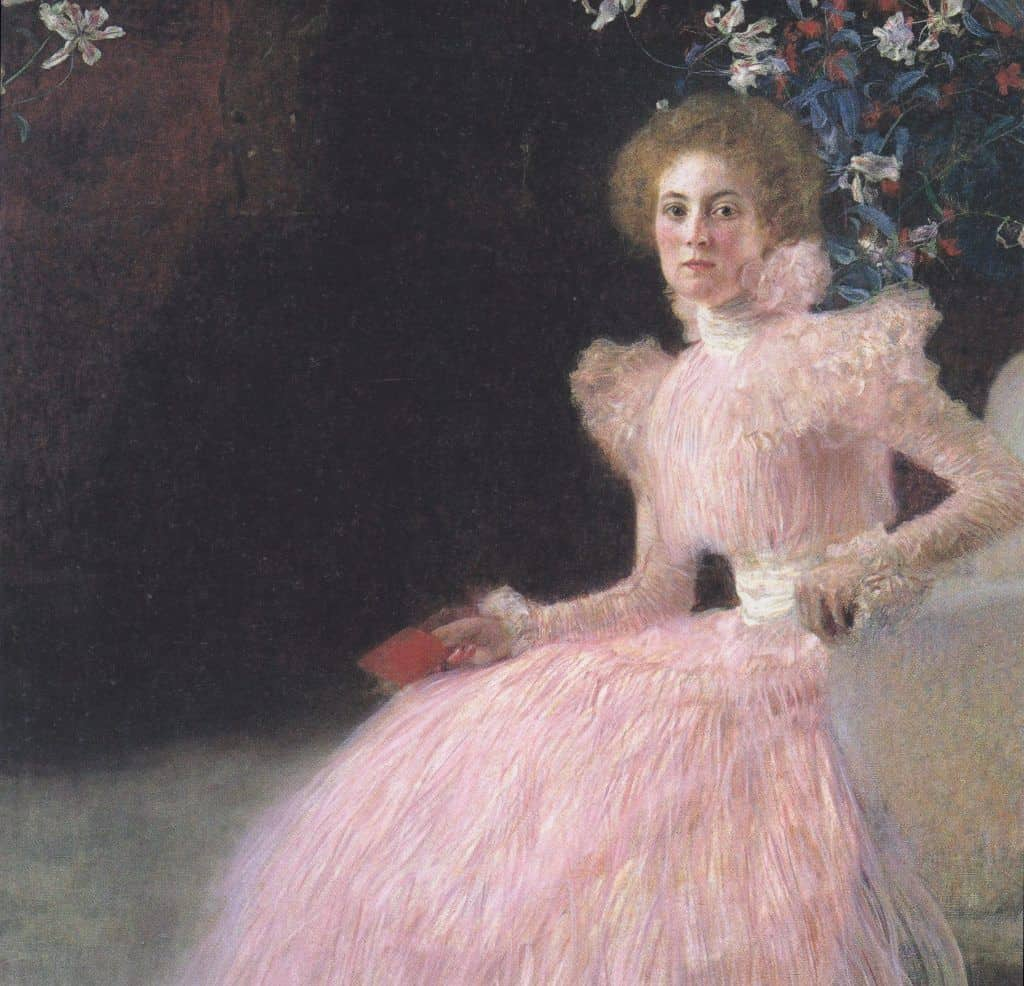 Portrait of Sonia Knips (1898) from the collection of the Belvedere Palace. Photo: wikiart.org