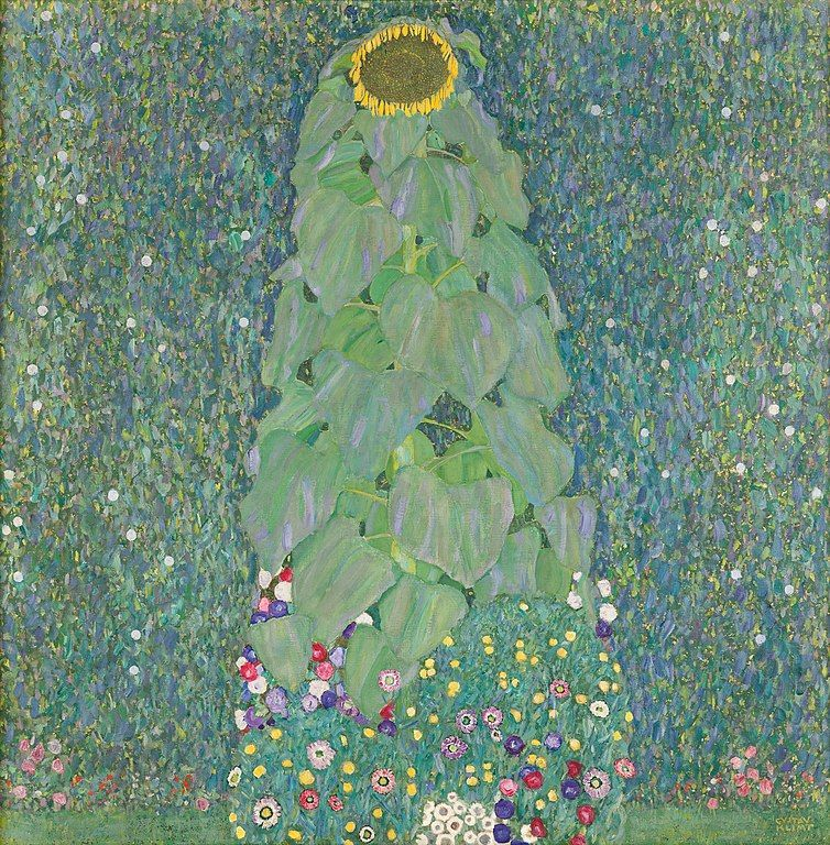 "Gustav Klimt ""Sunflower"" (1906-1907). Photo: wikiart.org"