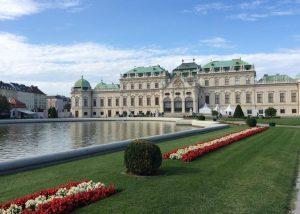 экскурсия дворец бельведер