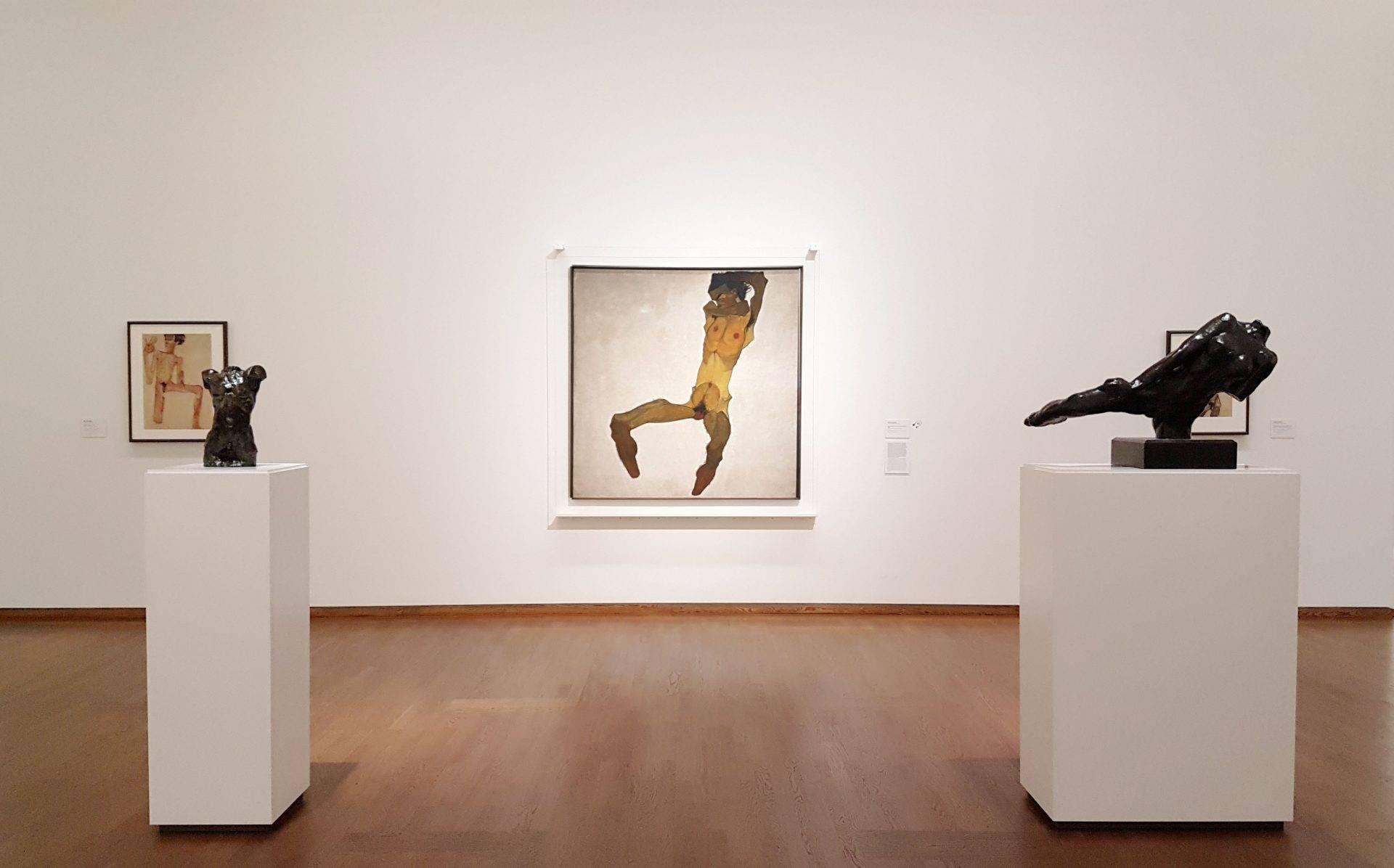 Музей Леопольда шиле автопортрет роден