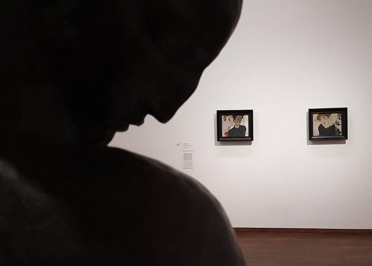 Музей Леопольда картины эгона шиле скульптура жоржа минне