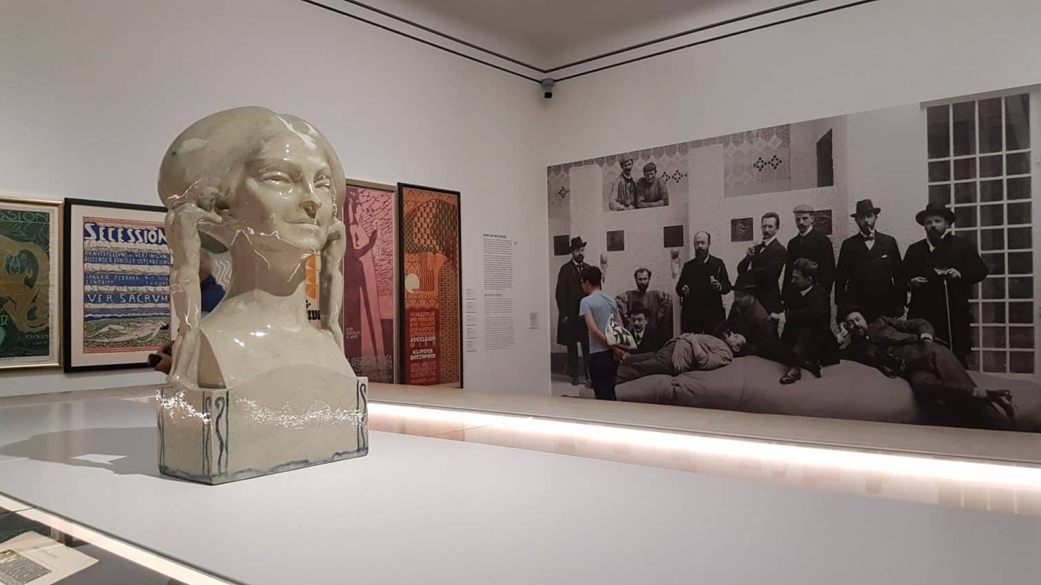 The exhibition of The Secession Movement in the Leopold Museum in Vienna. Photo: Art with me! e.U., 2019