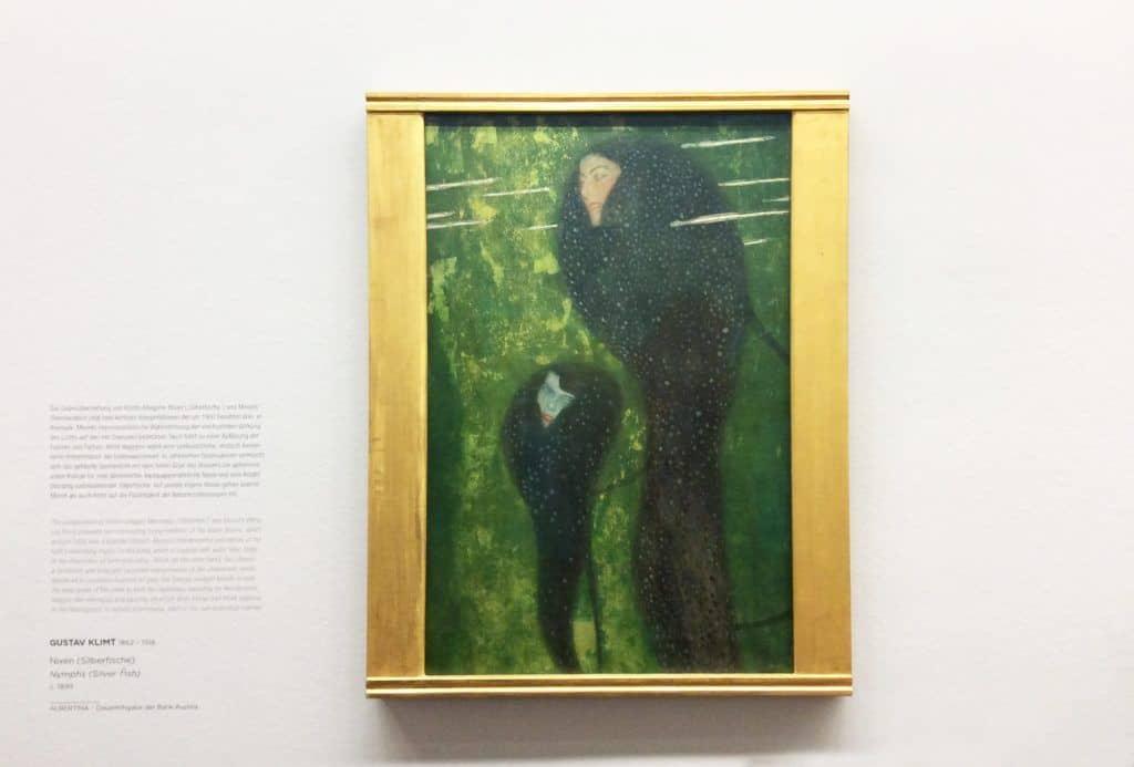 """Густав Климт в экспозиции """"От Моне до Пикассо"""" в Альбертине. Фото: Art with me! e.U., 2020"""