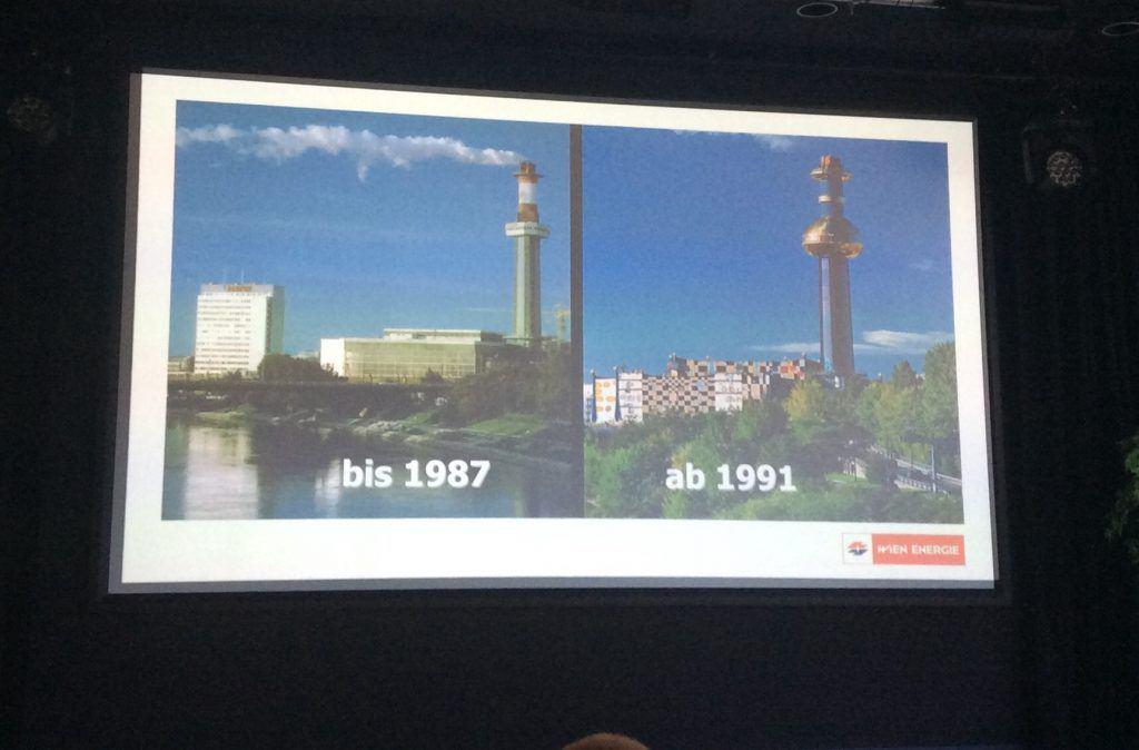 Презентация истории мусороперерабатывающего завода. Art with me! e.U., 2019