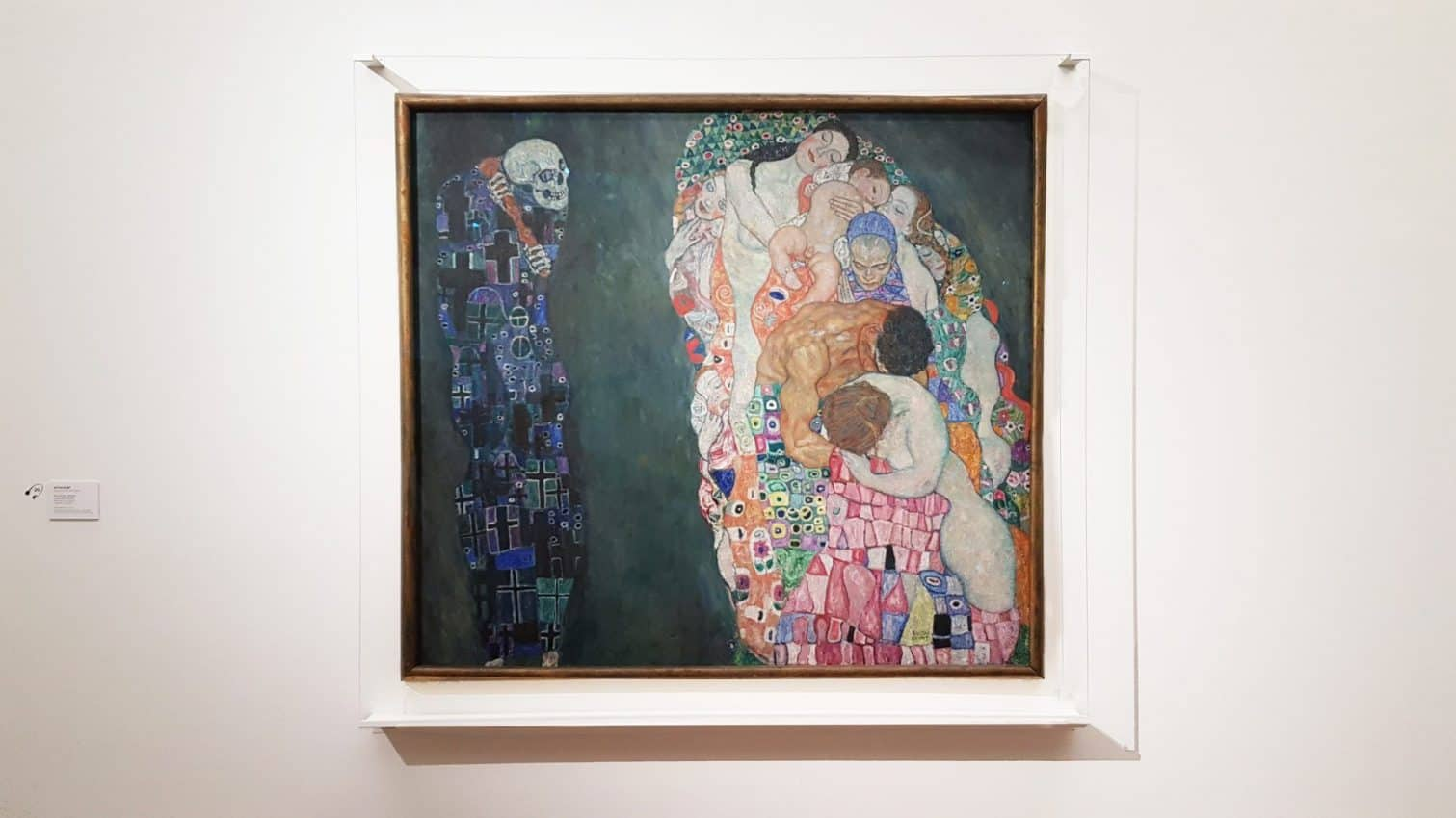 "Klimt's ""Life and Death"" at the Leopold Museum in Vienna. Photo: Art with me! e.U., 2019"