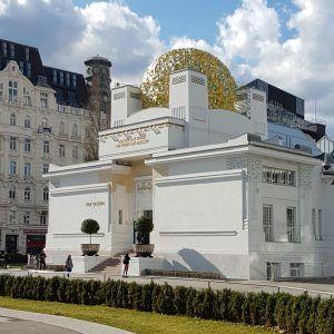 Здание выставочного зала Венского Сецессиона. Фото Юлии Абрамовой, 2010