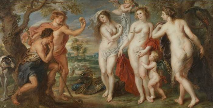 "Peter Paul Rubens' ""Judgement of Paris"". Photo: wikiart.org."