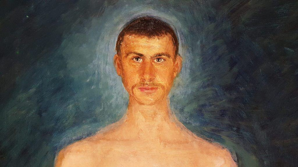 Музей леопольда автопортрет герстеля фрагмент