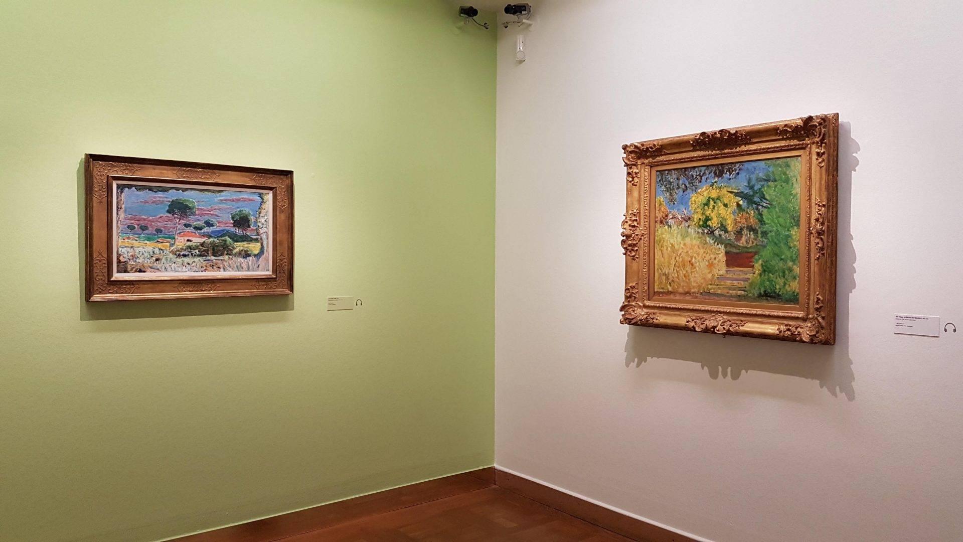Выставка Пьера Бонара в Кунстфоруме Австрия. Фото: Art with me! e.U., 2019