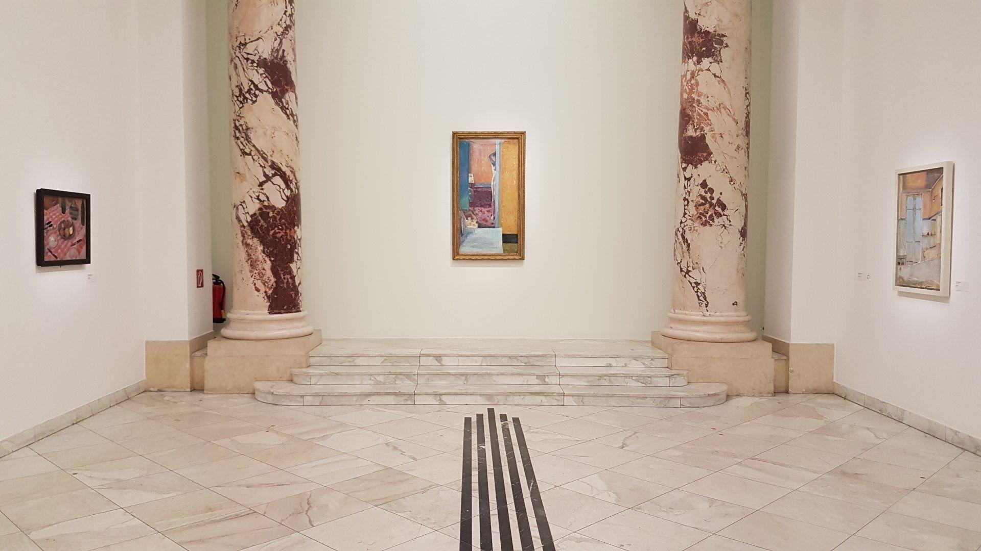 Экспозиция выставки Пьера Боннара в Кунстфоруме Форума Австрия. Фото Юлии Абрамовой, 2019