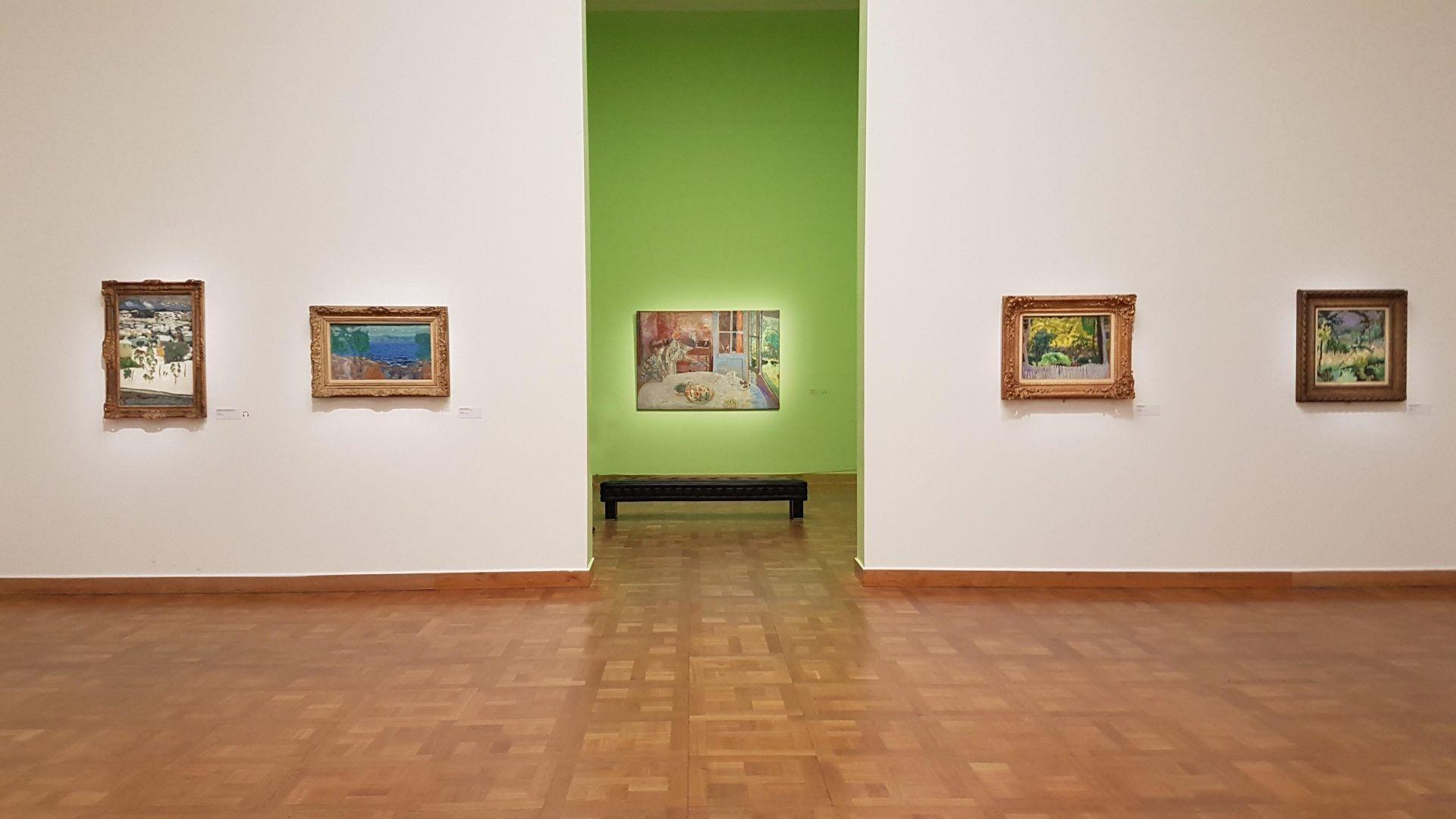 Вид экспозиции выставки Пьера Боннара в Кунстфоруме Форума Австрия. Фото Юлии Абрамовой, 2019