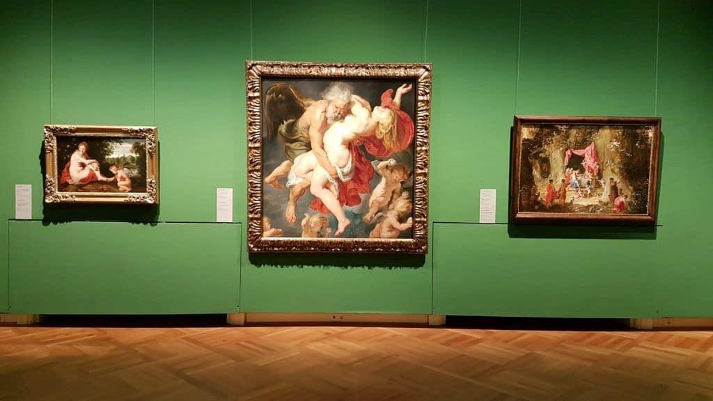 Экспозиция коллекции Академии искусств в Дворце Лобковиц. Фото: Art with me! e.U., 2019