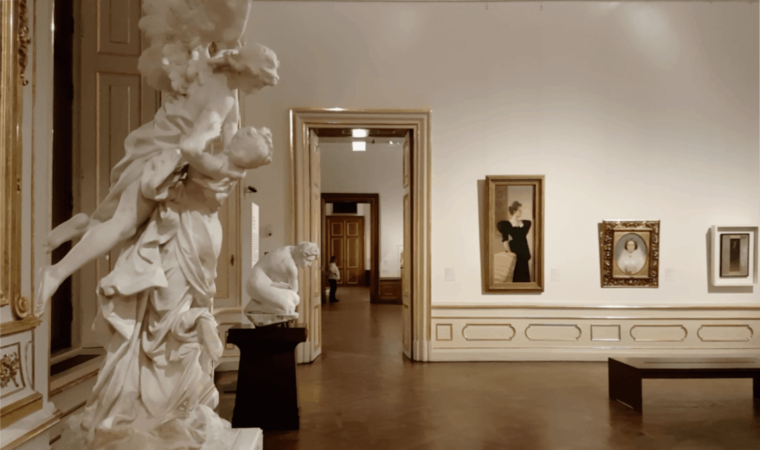 Дворец Верхний Бельведер. Экспозиция искусства Модерна. Фото: Art with me! e.U., 2019