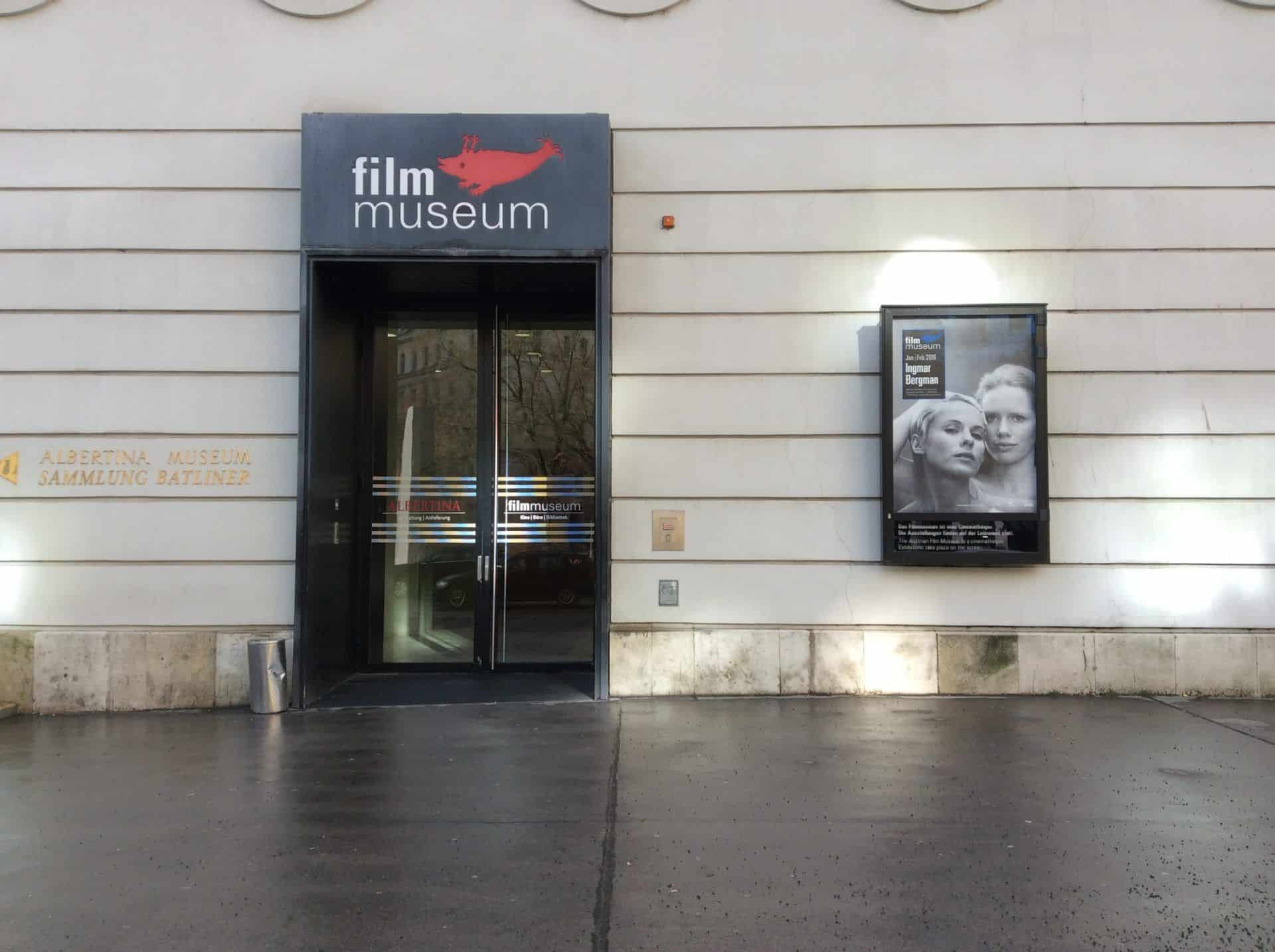 Entrance to the Austrian Museum of Cinema in Vienna. Photo: Julia Abramova, 2018