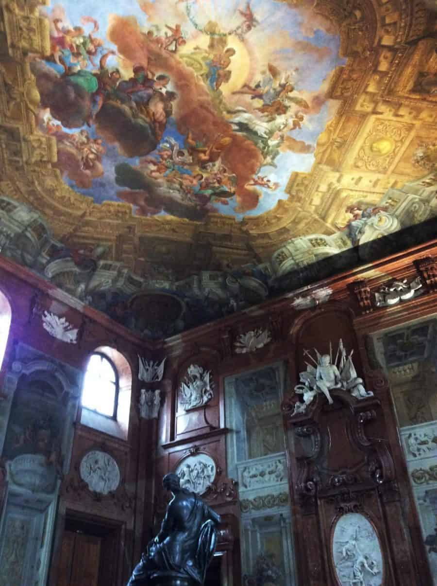 The ceremonial hall in the Lower Belvedere. Photo by Julia Abramova, 2019.