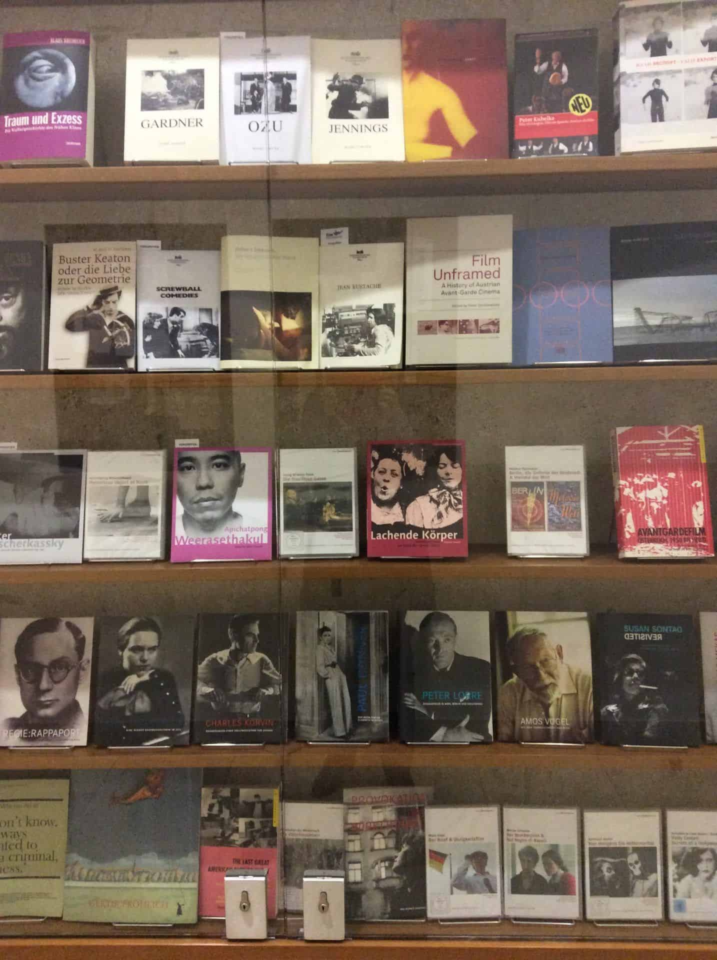 Shop at the Austrian Film Museum. Photo: Julia Abramova, 2018