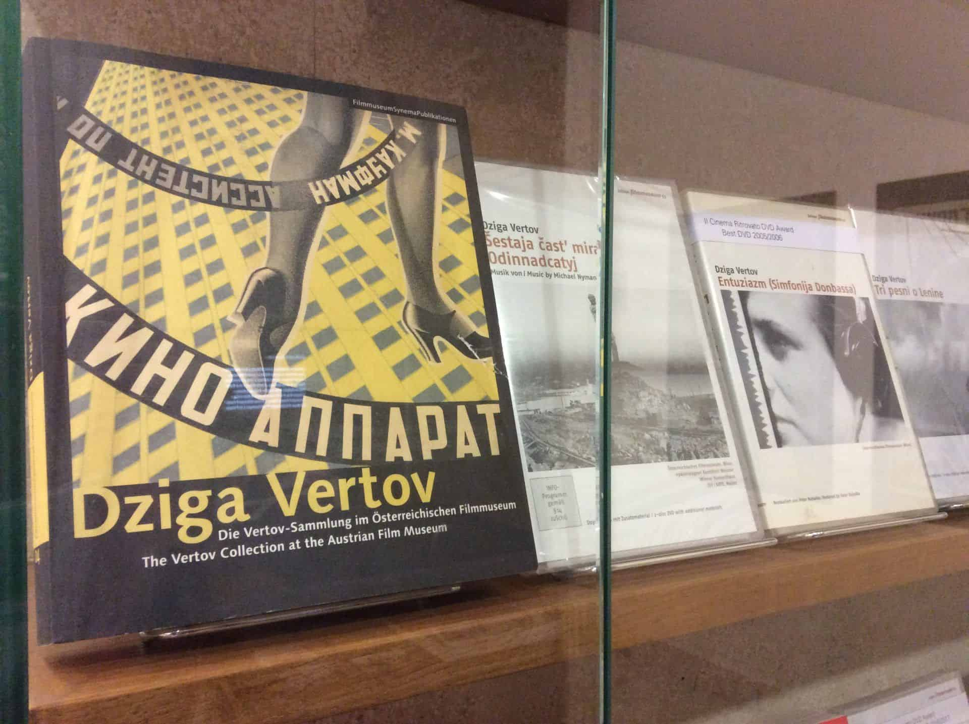Poster exhibition in the Austrian Museum of Cinema in Vienna. Photo: Julia Abramova, 2018.