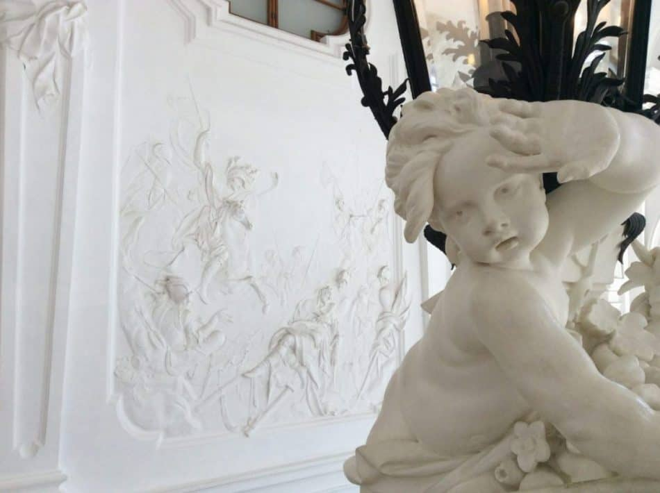 The Upper Belvedere Palace. Fragment of the decor of the front stairs. Photo: Art with me! e.U., 2019