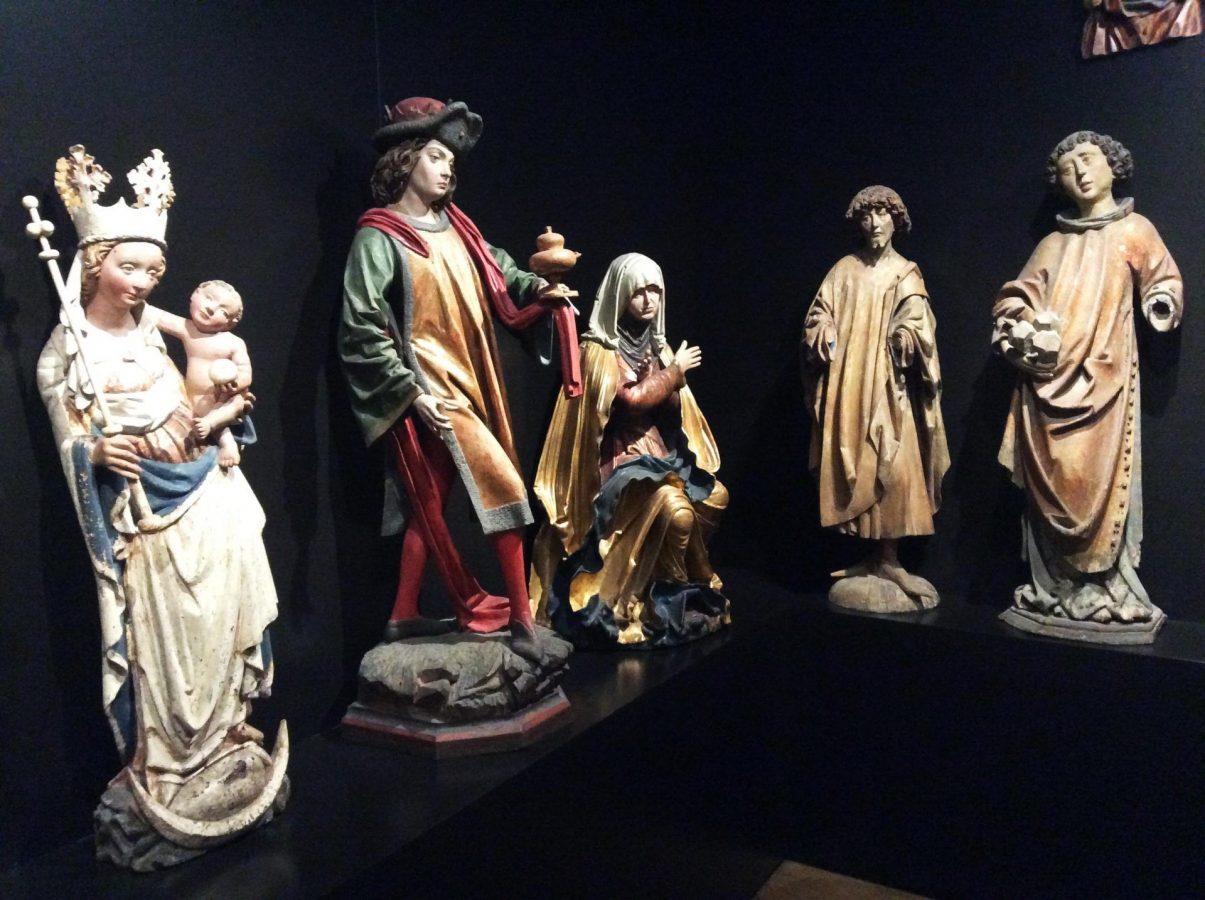 Экспозиция скульптуры в Нижнем Бельведере. Фото Юлии Абрамовой