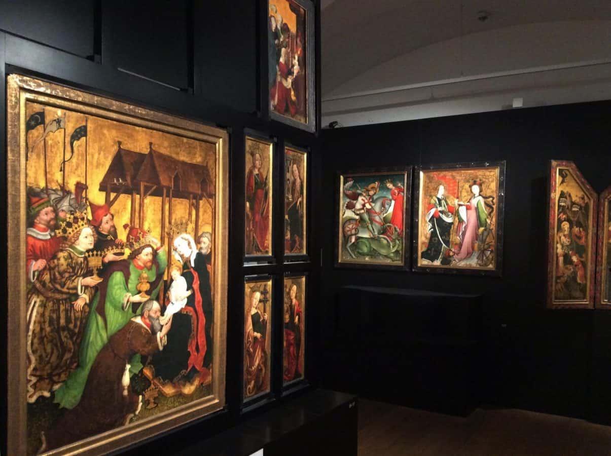 Экспозиция религиозной живописи в Нижнем Бельведере. Фото Юлии Абрамовой
