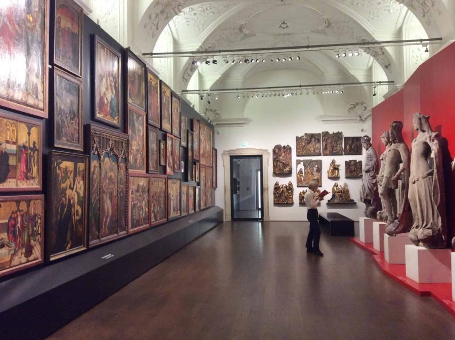Экспозиция живописи и скульптуры в Нижнем Бельведере в Вене. Фото Юлии Абрамовой, 2019
