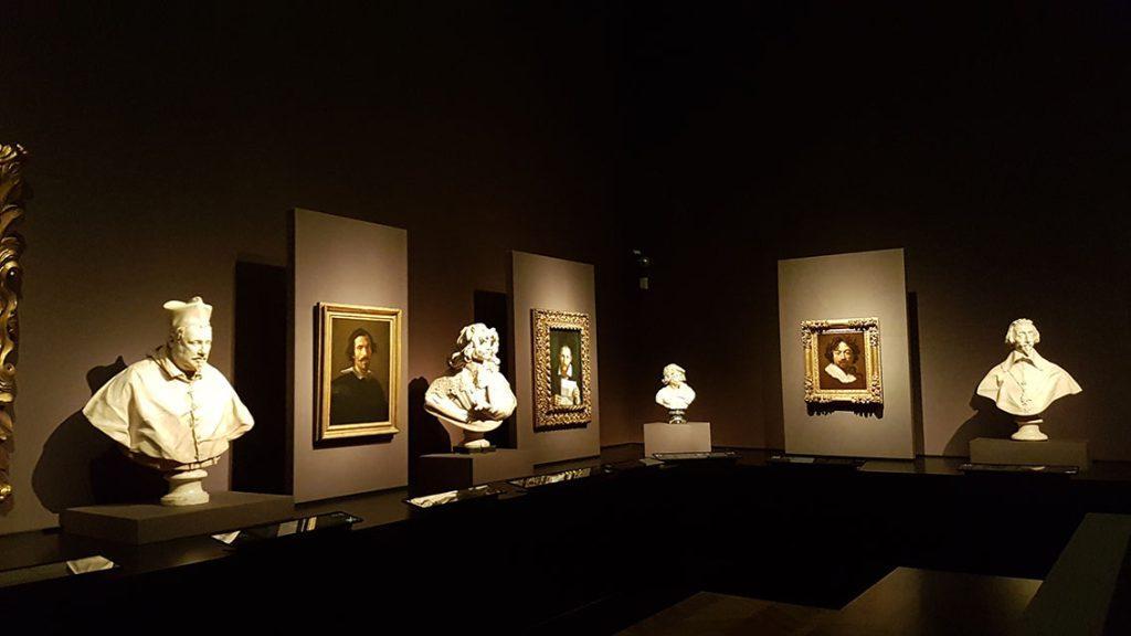 Выставка «Караваджо и Бернини». Фото Art with me! e.U., 2019