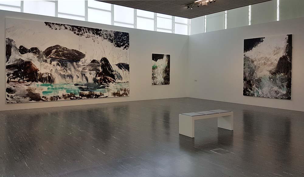 Экспозиция выставки Херберта Брандаля в Бельведере 21. Фото Art with me! e.U., 2020
