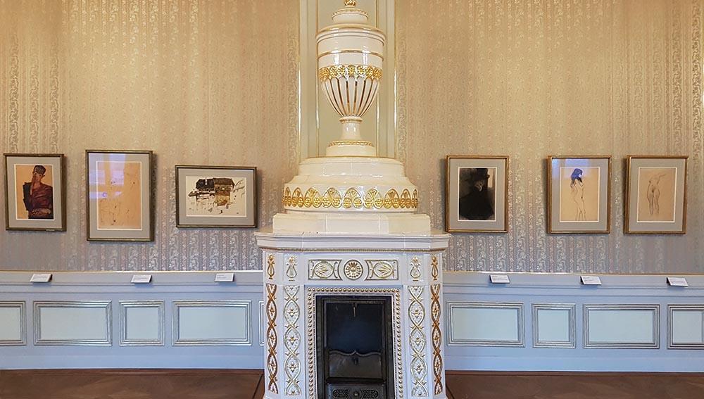 Работы Шиле и Климта в парадных залах Галерее Альбертина. Фото: Art with me! e.U., 2020