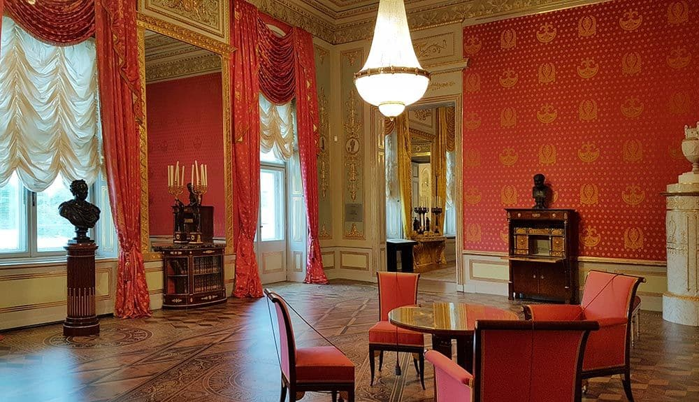 State Rooms of the Albertina Gallery in Vienna. Photo: Art with me! e.U., 2020