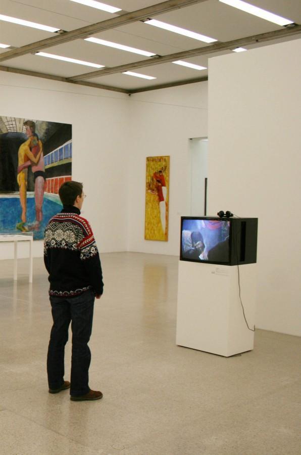 Экспозиция выстаки Gerder Check в Музее современного искусства в Вене. Фото Юлии Абрамовой, 2010