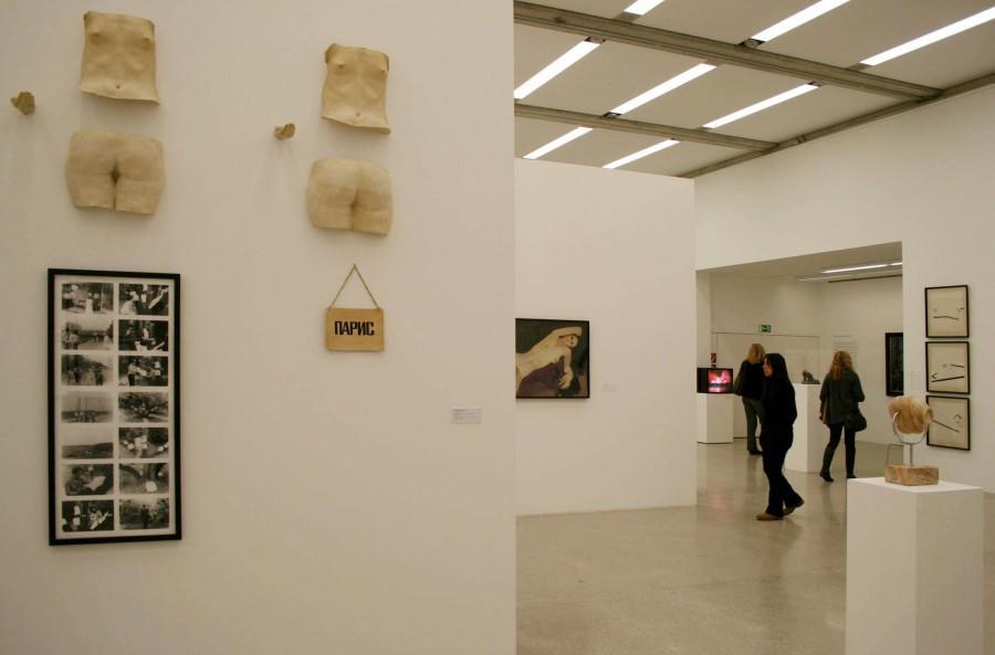 Экспозиция выставки в Вене. Фото Юлии Абрамовой, 2010