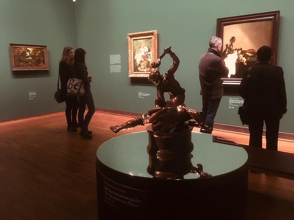 Экспозиция выставки из собрания князьев Лихтенштейн в Галерее Альбертина. Фото: Art with me! e.U., 2019