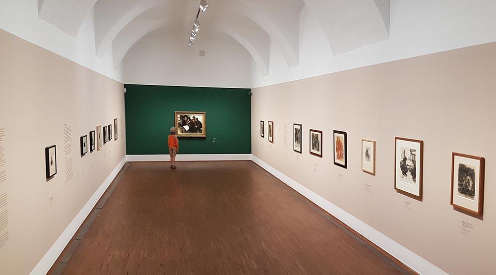 Экспозиция Вильгельма Ляйбля в Галерее Альбертина. Фото: Art with me! e.U., 2020